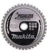 Makita 165x20mm TCT Circular Saw Blade for Sandwich Panels - 45 Teeth (B-63133)